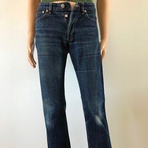 APC Hipster Raw Denim Jeans. Unisex